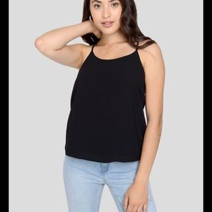 3/20$ NWT Only Jean Siglet black plaid top